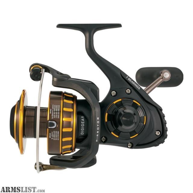 a7d4379d420 For Sale: Daiwa BG Saltwater Spinning Reel 4000, 5.7:1 Gear Ratio, 6+1  Bearings, 39.90″ Retrieve Rate, 17.60 lb Max Drag BG4000