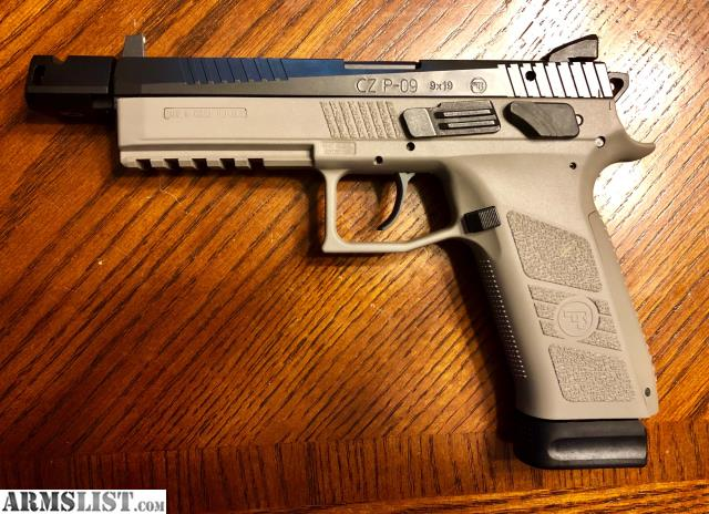 ARMSLIST - For Sale: CZ P-09 Urban Gray Tactical 9mm and CZ
