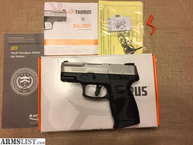 ARMSLIST - For Sale: Taurus PT111 G2c