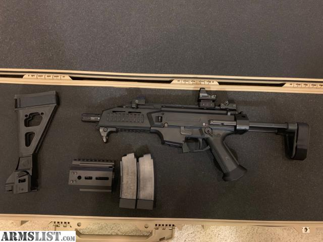 ARMSLIST - For Trade: CZ Scorpion with Binary and DPP