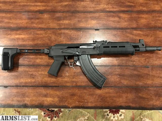 ak pistol with brace