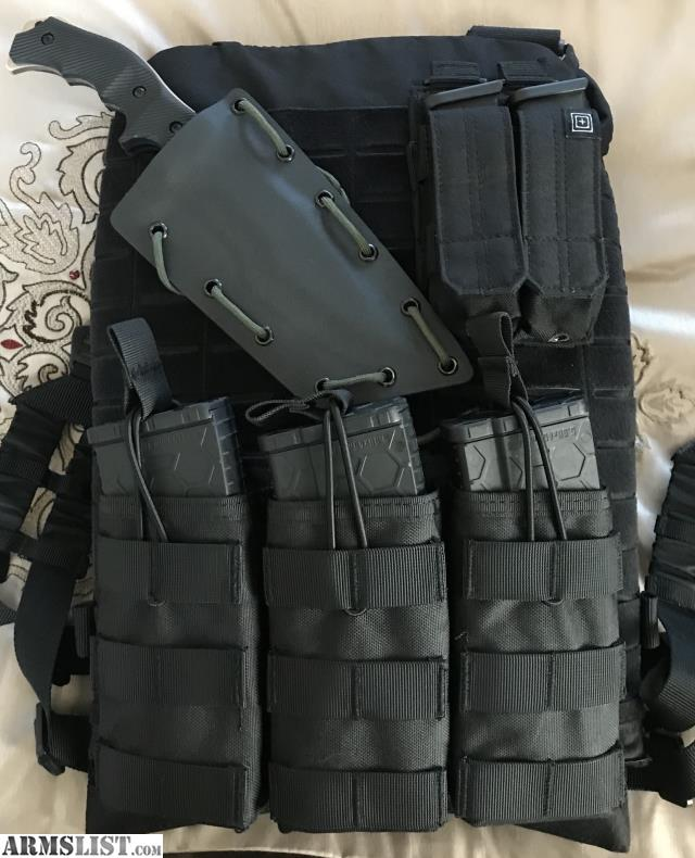 Armslist For Sale 5 11 Tactical Plate Carrier