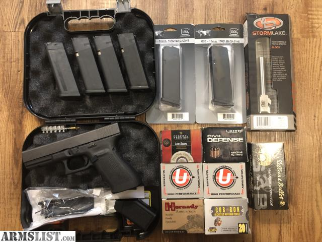 ARMSLIST - For Trade: Glock 21 gen 4 with 10mm conversion