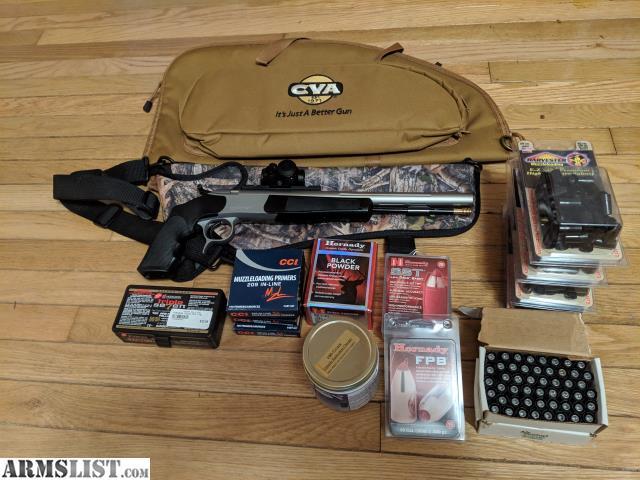 ARMSLIST - For Trade: CVA Optima V2 Pistol Package