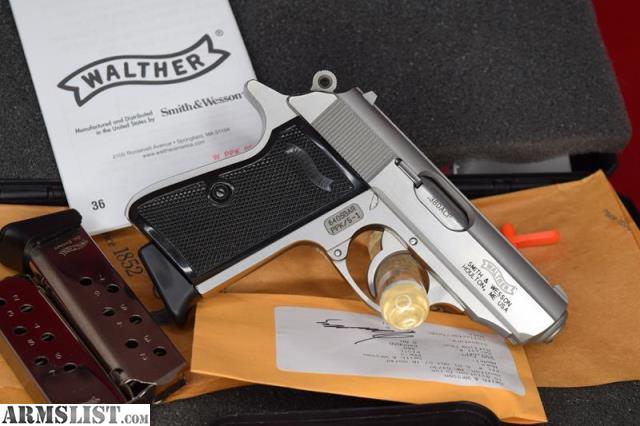 ARMSLIST - For Sale: Walther PPK/S , Boxed