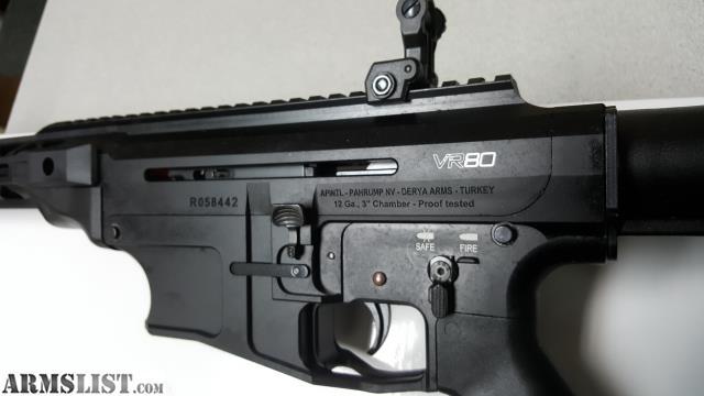 ARMSLIST - For Sale: RIA VR80 SA 12GA 2X5RD 20