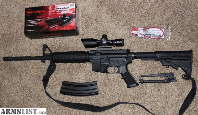 For Sale: Bushmaster AR-15 5.56/223
