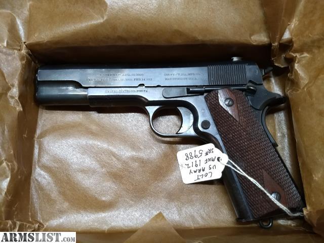 colt 1911 serial number dating