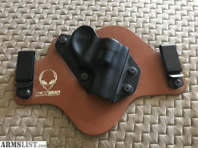 ARMSLIST - For Sale: Alien Gear Paddle Holster for Ruger LCR