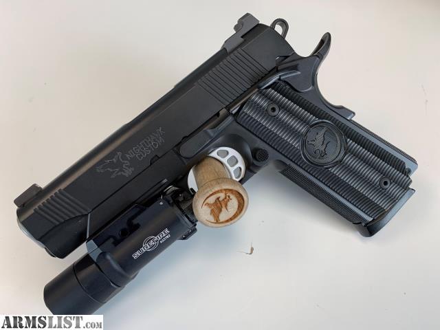 ARMSLIST - For Sale/Trade: Nighthawk Custom 1911 Blackout