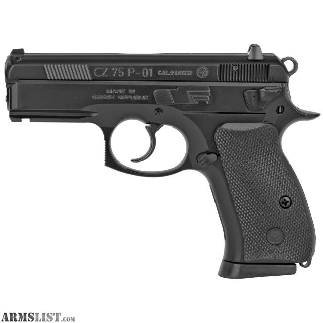 Armslist For Sale In Stock Cz 75 P 01 9mm Cz 91199