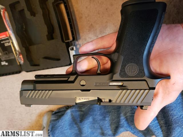 ARMSLIST - For Trade: SIG P320 FULL SIZE X GRIP 9MM