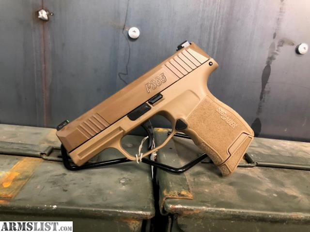 ARMSLIST - For Sale: NEW Sig P365 Coyote NRA Edition