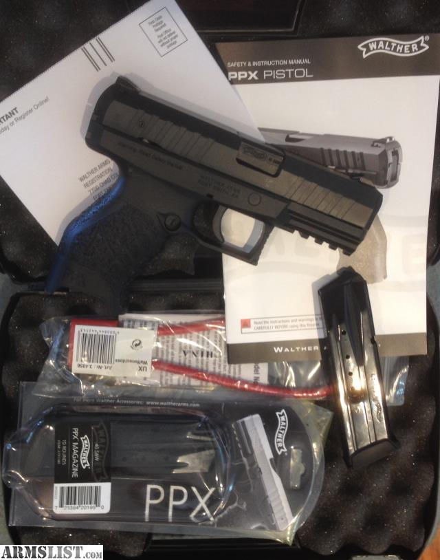 ARMSLIST - For Sale: Walther PPX M1  40 S&W