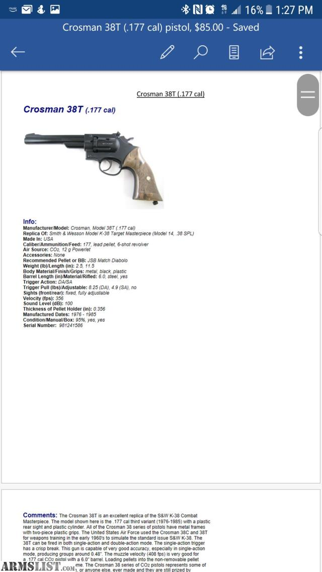ARMSLIST - Washington Air Guns Classifieds