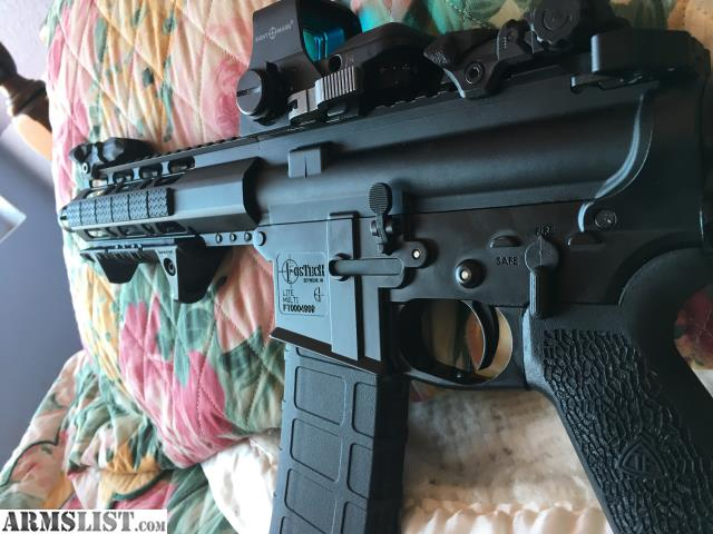 ARMSLIST - For Sale: Fostech AR 15 Pistol 7 5 inch