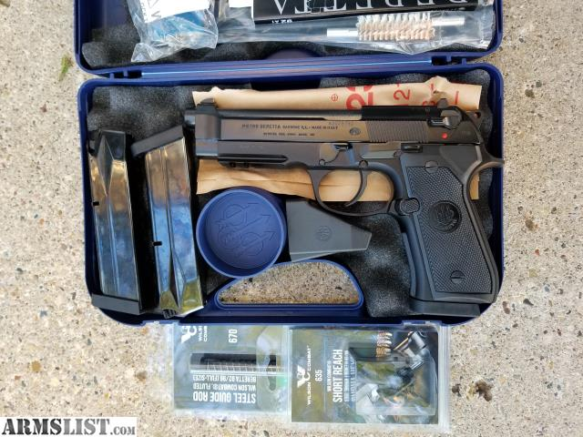 ARMSLIST - For Sale: Beretta 92A1 with Wilson Combat Parts