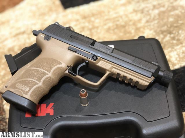 ARMSLIST - For Sale: Hk45 tactical FDE