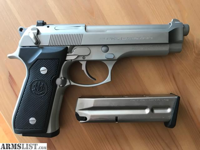 ARMSLIST - For Sale: Beretta 92FS Stainless Tactical / Inox
