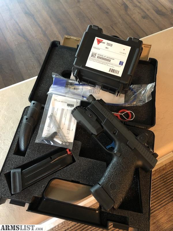 ARMSLIST - For Sale: Custom CZ P10c - JagerWerks Slide and