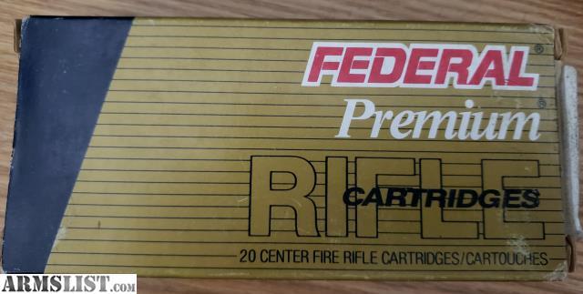 ARMSLIST - For Sale: Federal Premium Vital-Shok Ammunition