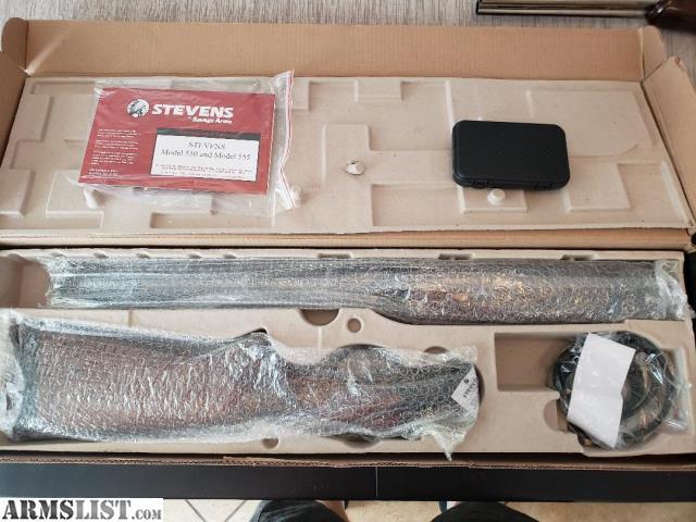 ARMSLIST - For Sale: *NEW* Savage Arms / Stevens 555 O/U