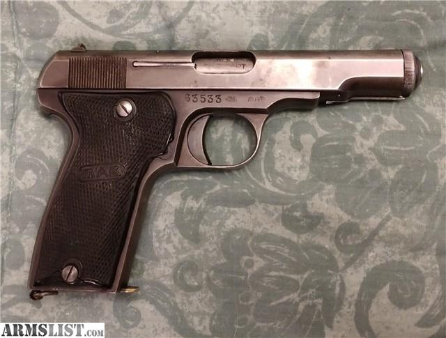 ARMSLIST - For Sale: WW2 Nazi marked French MAB Model D