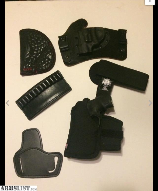 ARMSLIST - For Sale/Trade: Ruger LCR CROSSBREED HOLSTER LOT