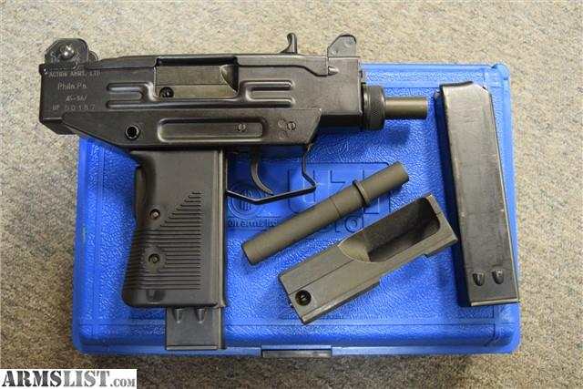 ARMSLIST - For Sale: IMI Micro UZI in 45 ACP 9mm Kit New