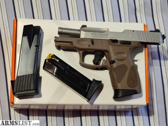ARMSLIST - For Sale: Taurus G2C upgraded stainless/FDE