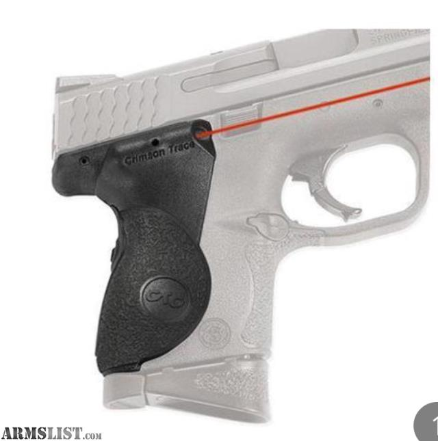 ARMSLIST - For Sale: Crimson Trace laser grip for m&p compacts