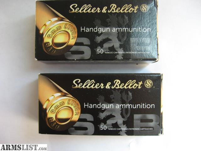ARMSLIST - For Sale: 9mm ammunition, 100 rounds, 115gr, NEW