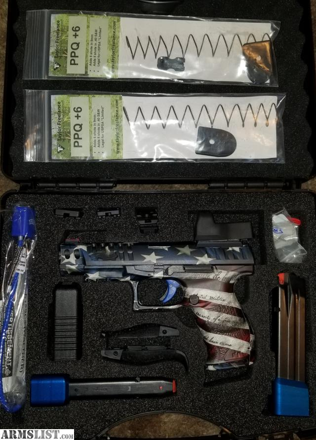 ARMSLIST - For Sale: Walther PPQ Q5 Match