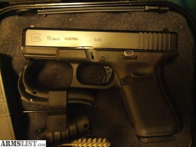 ARMSLIST - For Sale/Trade: Glock 19 gen5