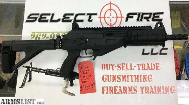 ARMSLIST - For Sale: IWI Galil ACE Pistol 7 62x39mm