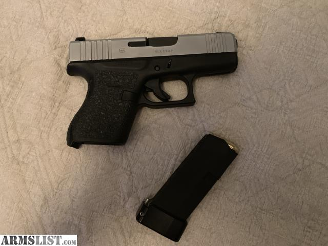 ARMSLIST - For Sale/Trade: Glock 43x with night sights on 43 lower
