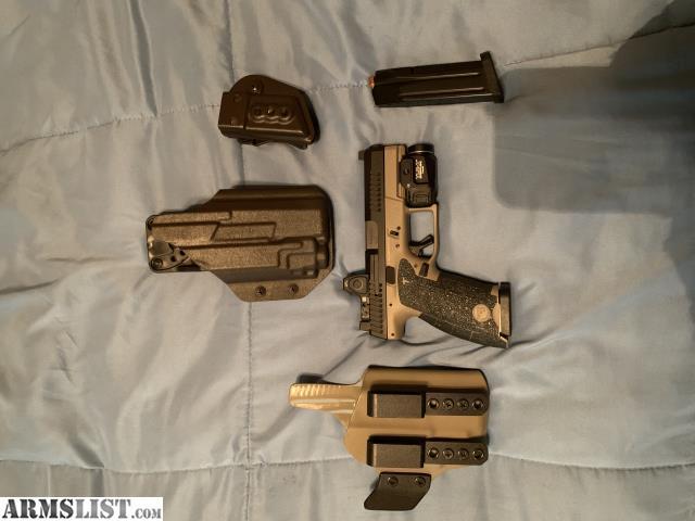 ARMSLIST - For Sale: CZ P10c with rmr