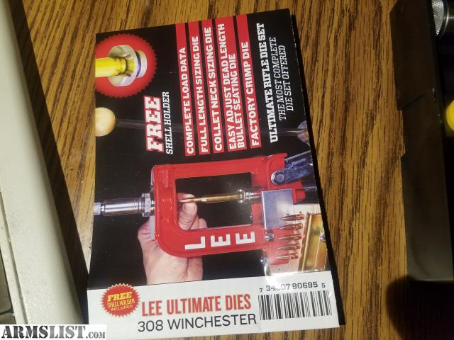 ARMSLIST - For Sale/Trade: Lee 308 Winchester 4 die set