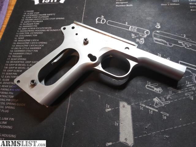 ARMSLIST - For Sale: 1911 Springfield stainless frame