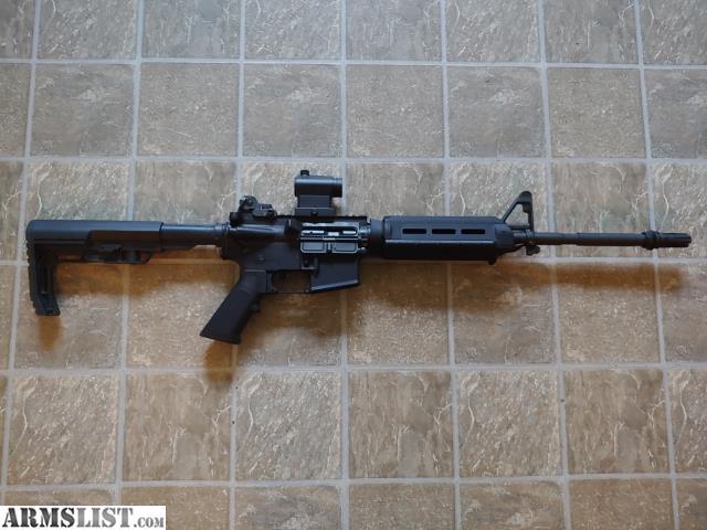 For Sale: Bushmaster 5.56 Patrolman Rifle With