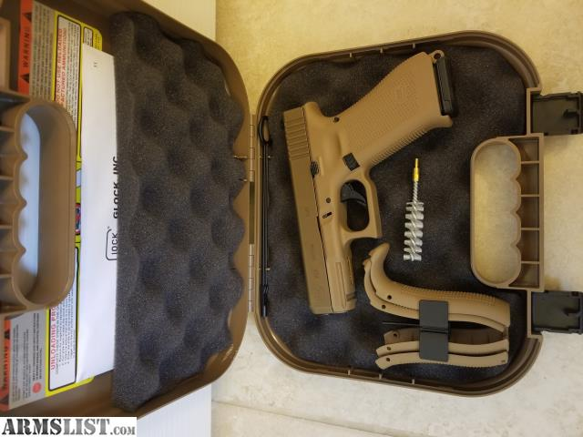 ARMSLIST - For Sale/Trade: Glock 19X  Night sights, upgraded