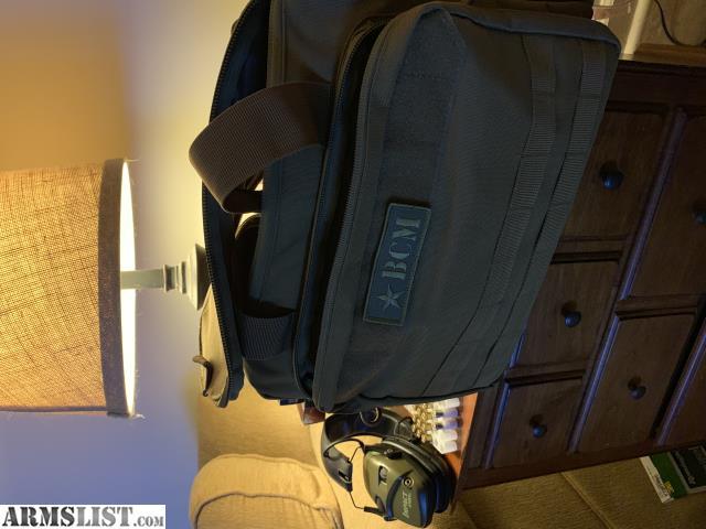 ARMSLIST - For Sale: 9mm/223 Ammo, Range Bag, elect ear pro