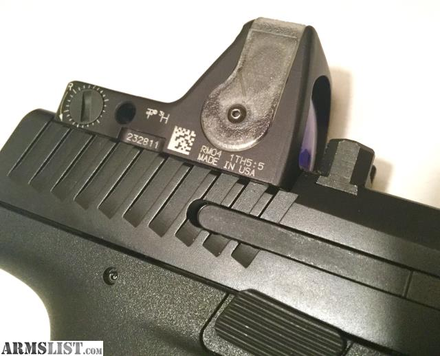 ARMSLIST - For Sale: Cz P10C W/RMR