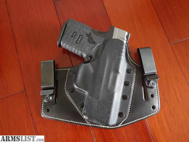 ARMSLIST - For Sale: Springfield XDS 45 with holster/talon grips