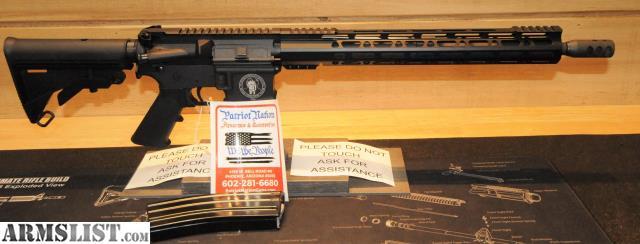 ARMSLIST - For Sale: Patriot Nation Custom Built AR-15