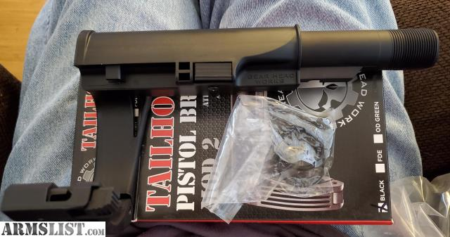 ARMSLIST - For Sale: Gear Head Works Tailhook Mod 2 Pistol Brace