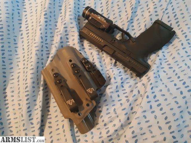 ARMSLIST - For Sale: CZ P10c w/ TLR-1 HL and AIWB holster