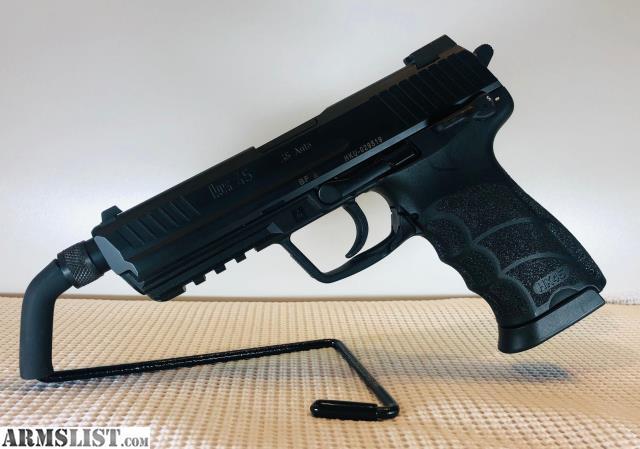 ARMSLIST - For Sale: Heckler & Koch HK45 tactical w/threaded barrel