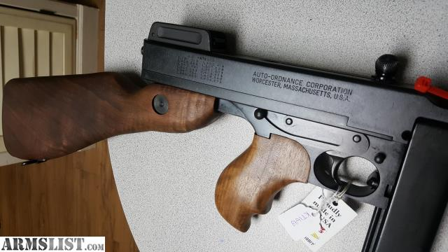 ARMSLIST - For Sale: THOMPSON T1-14 1927A1 DELUXE 45ACP 16