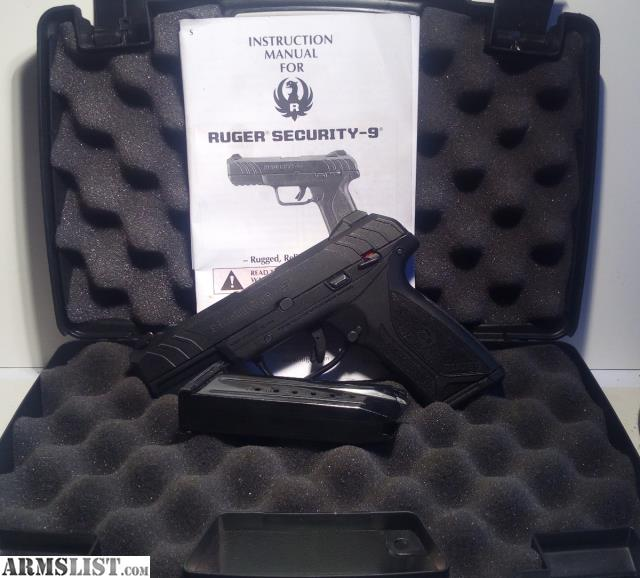ARMSLIST - For Sale: Ruger Security-9 9mm with 2 magazines